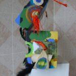 Archipel des Inatendus MASQUE, objet carton, 30x47x14cm, 2006