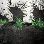 Herbes folles de paris I. Gravure sur cuivre. 2012