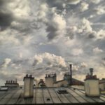 """Série """"Paris, ciel et toits"""" sans titre n°11"""