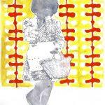 My childhood, aquarelle et feutre sur papier, 20 x 29 cm