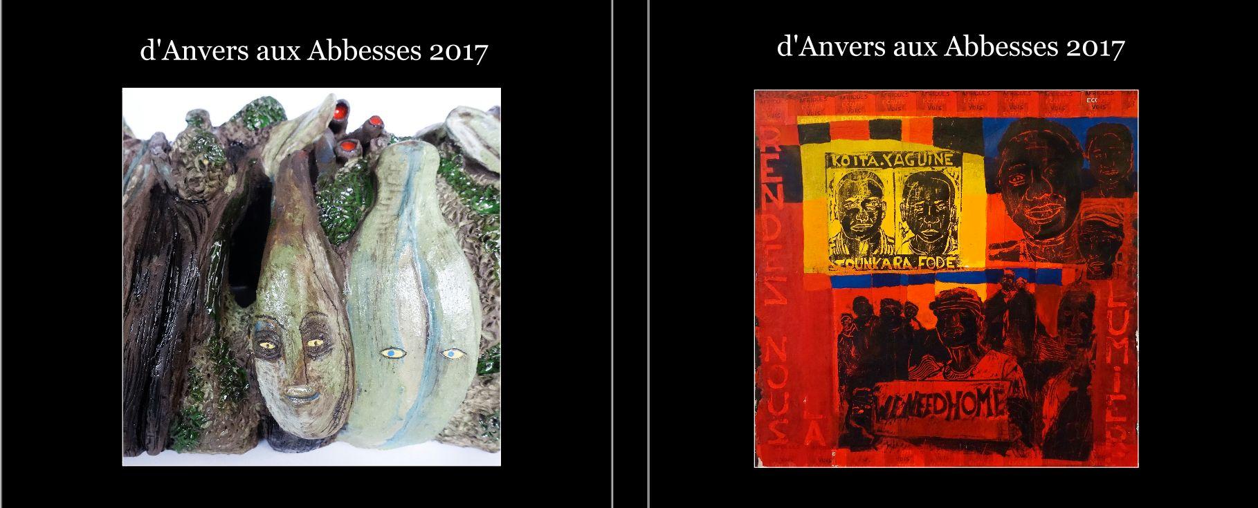 Le livre d'Anvers aux Abbesses 2017 (couverture)
