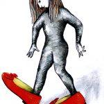 Les souliers rouges - Séverine Bourguignon