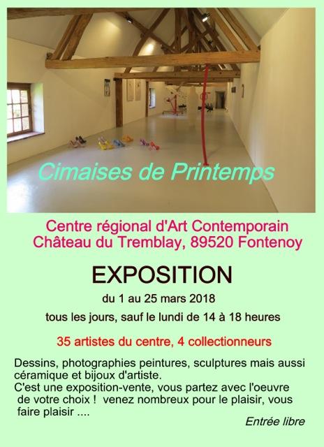 Cimaises de Printemps @ Centre Régional d'Art Contemporain | Fontenoy | Bourgogne Franche-Comté | France