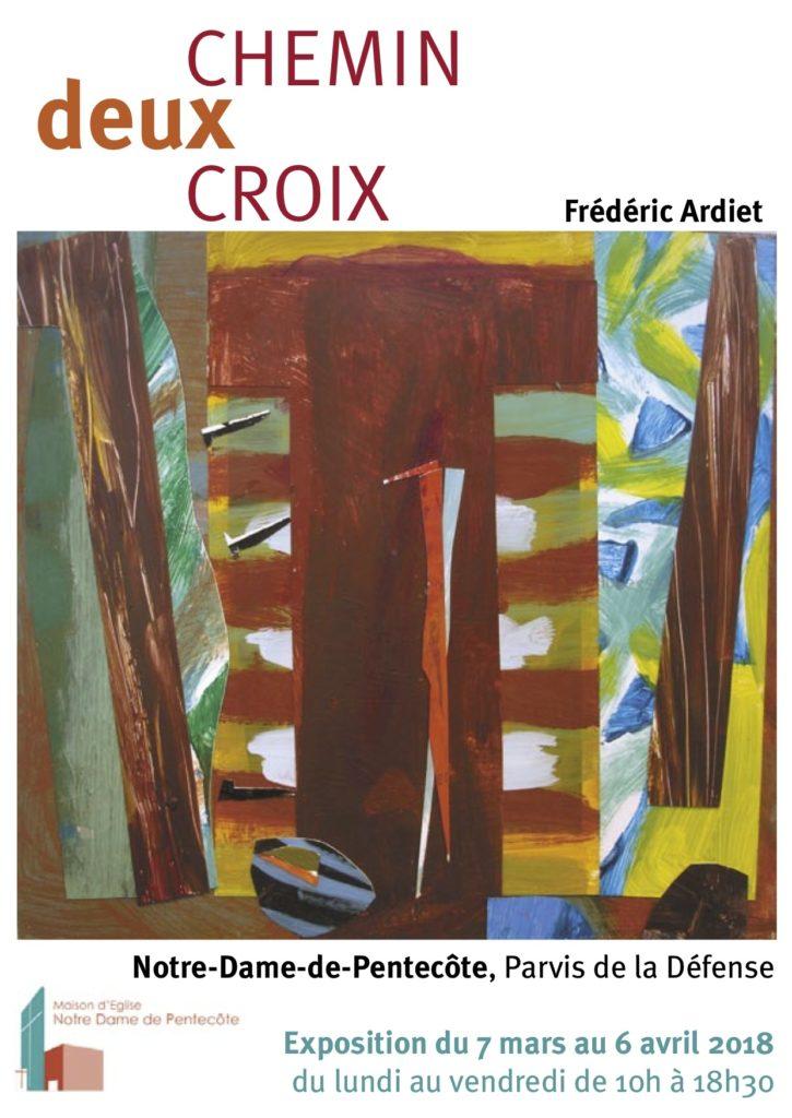 CHEMIN deux CROIX @ Notre-Dame-de-Pentecôte | Puteaux | Île-de-France | France