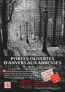 Atelier de sérigraphie Portes Ouvertes d'Anvers aux Abbesses @ Atelier CChouette