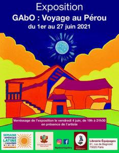 Exposition - GAbO : Voyage au Pérou @ Librairie Équipages