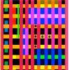 """""""Babel's Color Tower"""", encre sur plexiglas 60x60 cm 2016"""