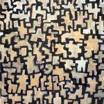 Diptyque +, pastel gras sur papier, 60 x 50 cm
