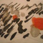 sans titre 24,5x34,5 encre de chine/papier japon