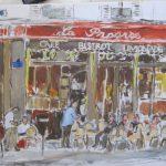 Le Progrès - 2012. Huile, 40 x 30 cm.
