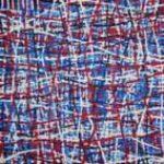 Azul, blanco y rojo fondo bleu blanc rouge 30x30 2015