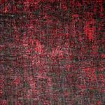 Negro fondo rojo Color tango 50x50 2014