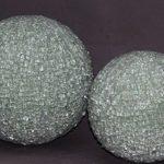 crystal bowl diam 35 et 20 cm