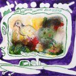 ENCADREUR ENCADRE avec Yvon Taillandier, tech mixte papier, 50x65cm, 2006
