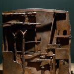 Bas-relief, métal